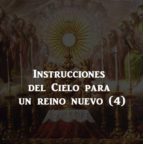 Cuarta Instrucción: ¡defended la Eucaristía!