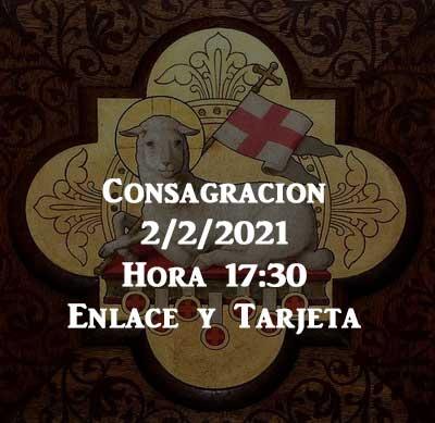 Consagración Eucarística 2/2/2021